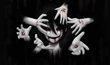 Eerie just being eerie by kimidori-no-neko