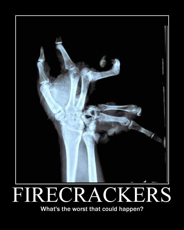 Firecrackers by CrescentMoonDemon