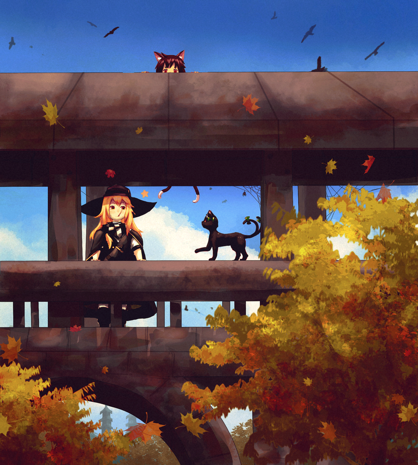 Autumn by Kunochai