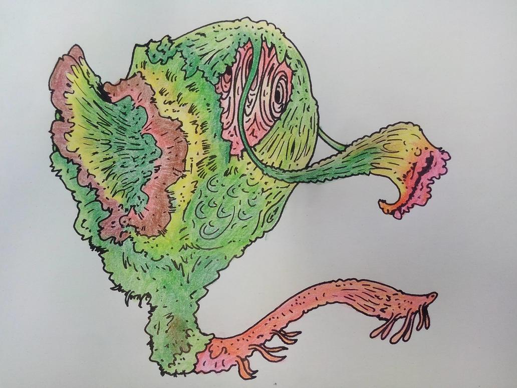 Alien Underwater Plant Organism by Greedo2007