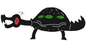 alligator tortoise
