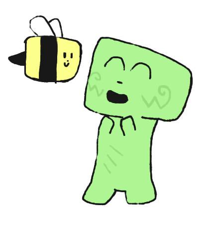 Bee And Creeper
