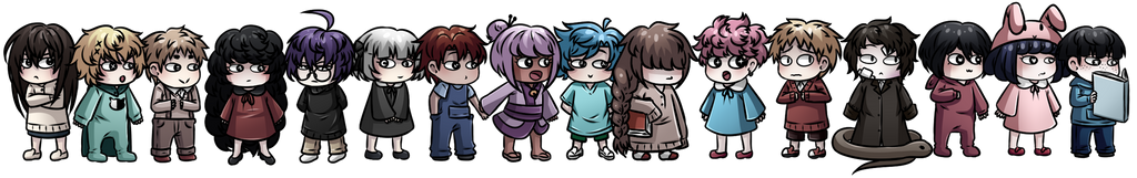 tiny demons by CrowWithAShortcake