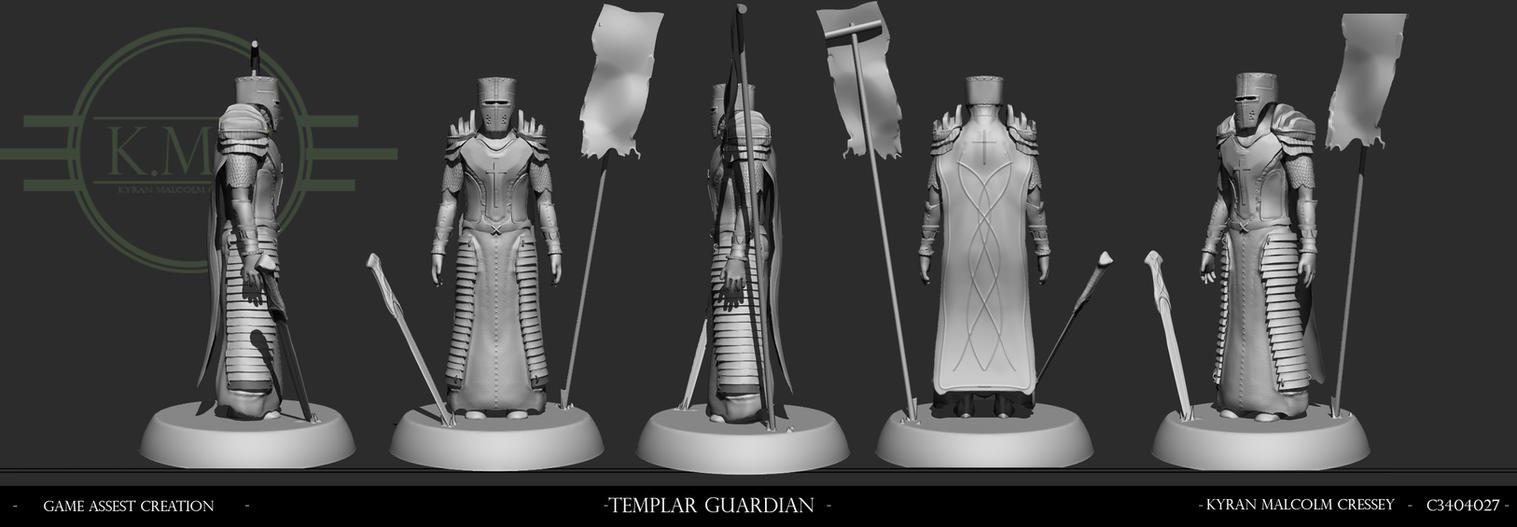 Templar Guardian Character Concept by Kmcressey