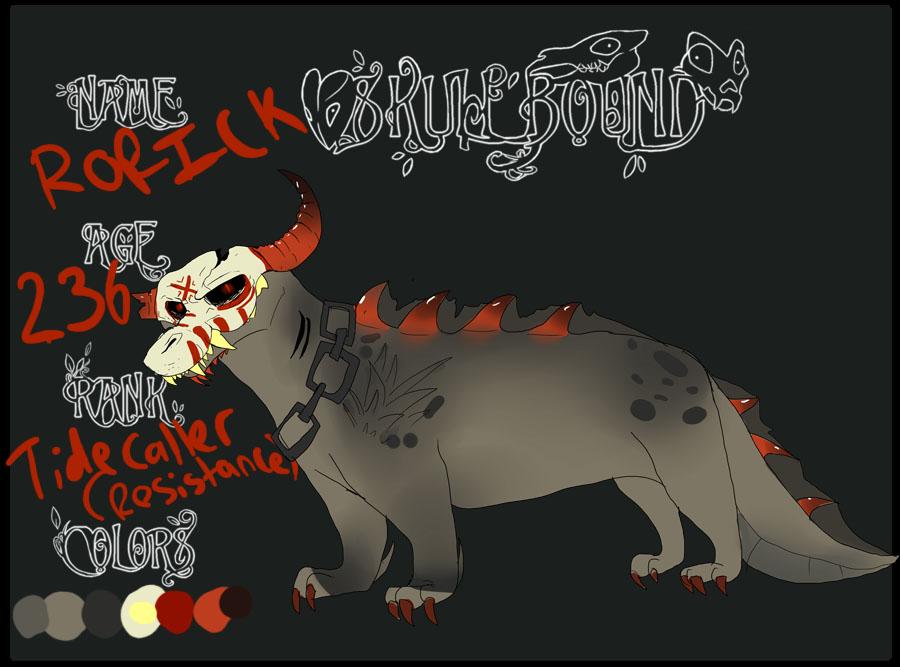 Skullbound App: Rorick by bedheadd