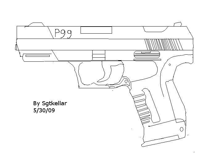 Walther P99 By Sgtkellar On Deviantart