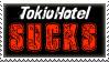 Tokio Hotel SUCKS Stamp by AnnoyingTruth