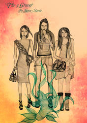 The 3 Graces by supermaria