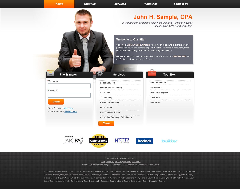 CPA Web Design Concept 5 by zorrosweb15 on DeviantArt
