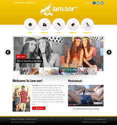 iamsor Website Design Concept