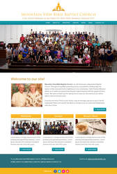 Mountain View Bible Baptist Church Website Design