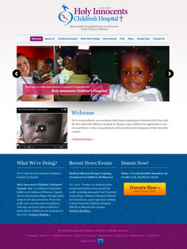 HICH Website Design Concept