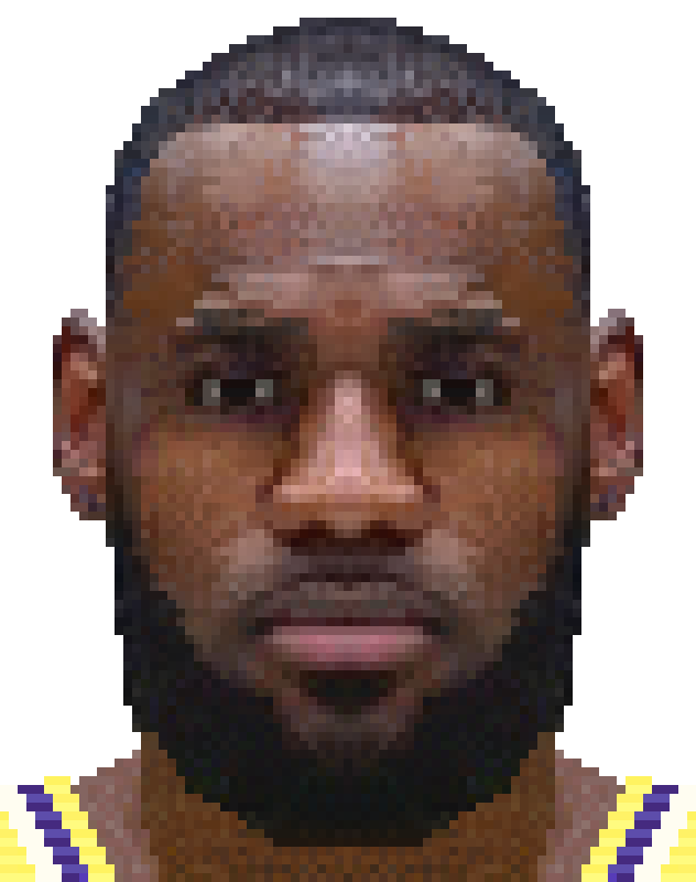 LeBron James by seanhowellportraits