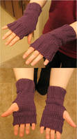 Knitted Hand Mitts