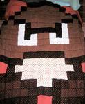 Goomba Afghan - crocheted