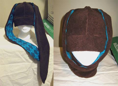 Long Eared Brown Bunny hat