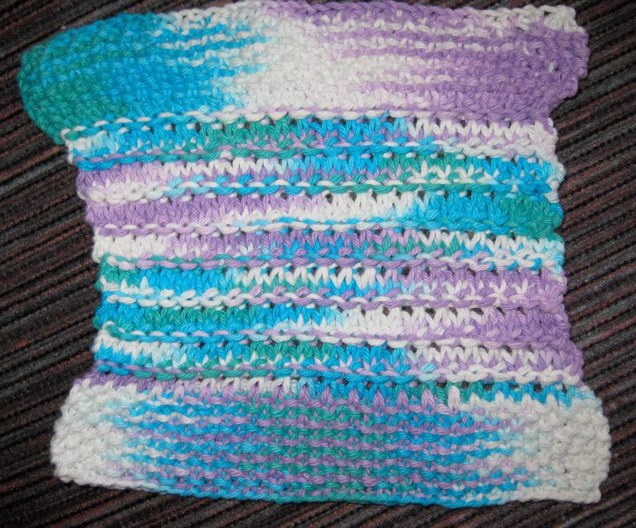 Granite+Seed Stitch Dishcloth by LunarJadeStyles on DeviantArt