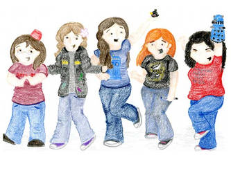 My Fantastic Fangirl Friends by Love-a-tomb
