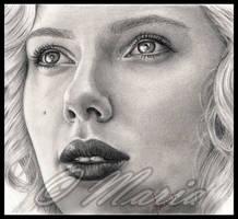 Scarlett Johansson by mariaanghel