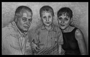 Family portrait by mariaanghel