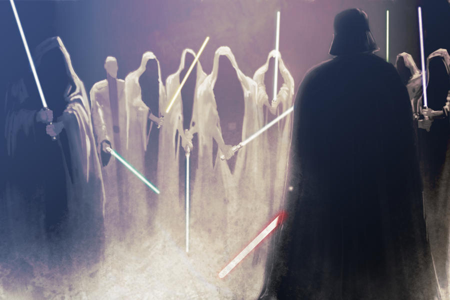 Conclave on Kessel. Darth Vader Against 8 Jedi by GoonCaptain on ...