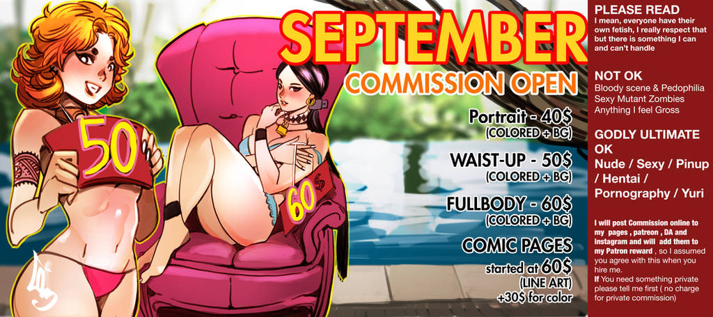 September commission is open :) by Cheunchin