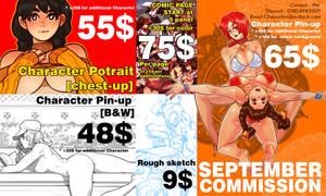 September commission update