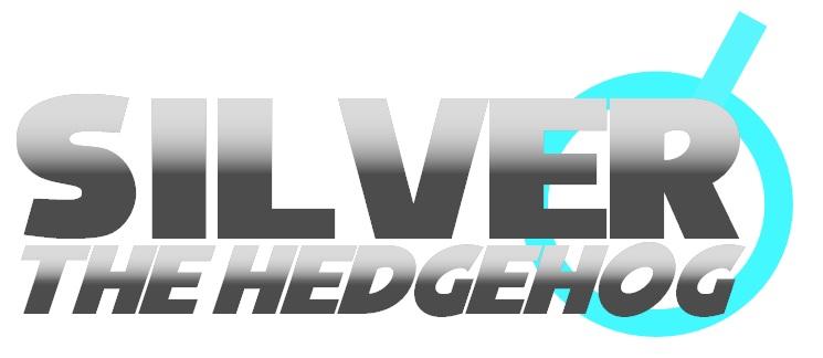 Silver The Hedgehog Logo Plain By Bingothecat On Deviantart