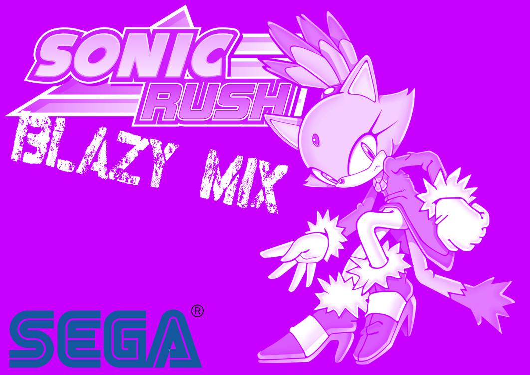Sonic Rush - Blazy Mix - Blaze the Cat by BingotheCat