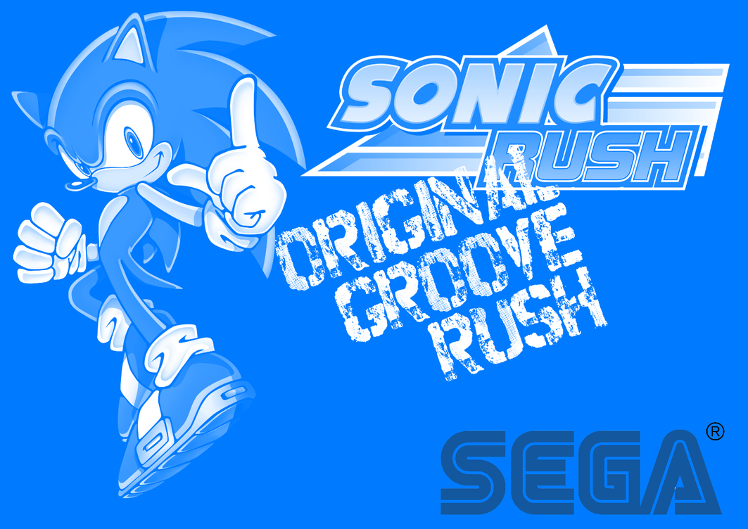 Sonic Rush - Original Groove Rush - Sonic by BingotheCat