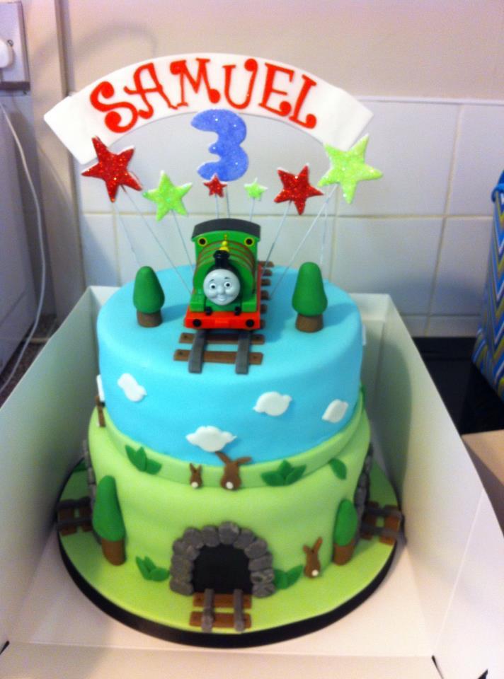 Sammys Percy Birthday Cake By Bingothecat On Deviantart