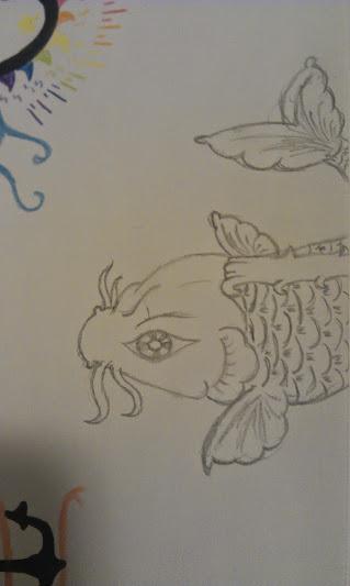 Koi Fish by MaineWicked
