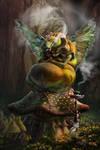 Caterpillar From Wonderland 2015 By Tera Lewis