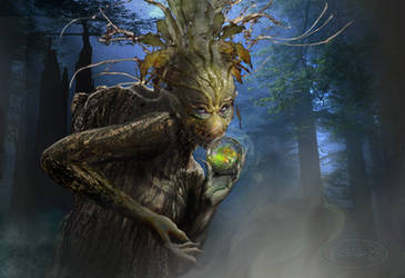 Dryad by spoofdecator