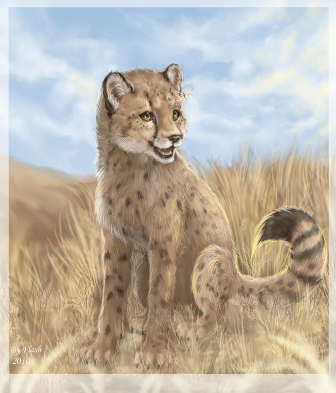 Happy cub by FlashW