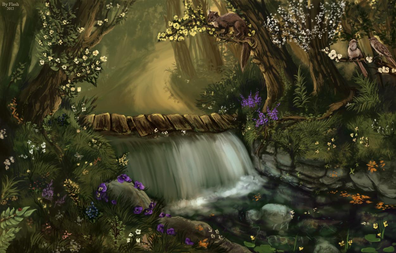 Forest way by FlashW