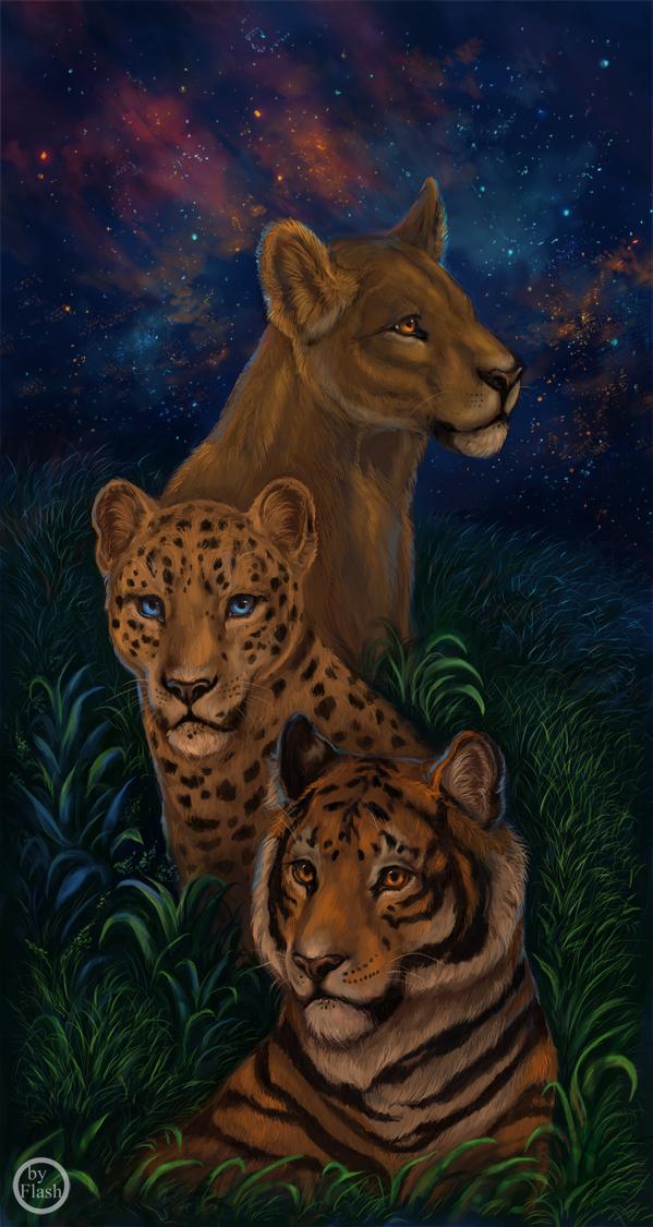 Night Hunters by FlashW