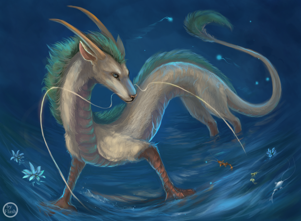 Haku. Spirited away. by FlashW
