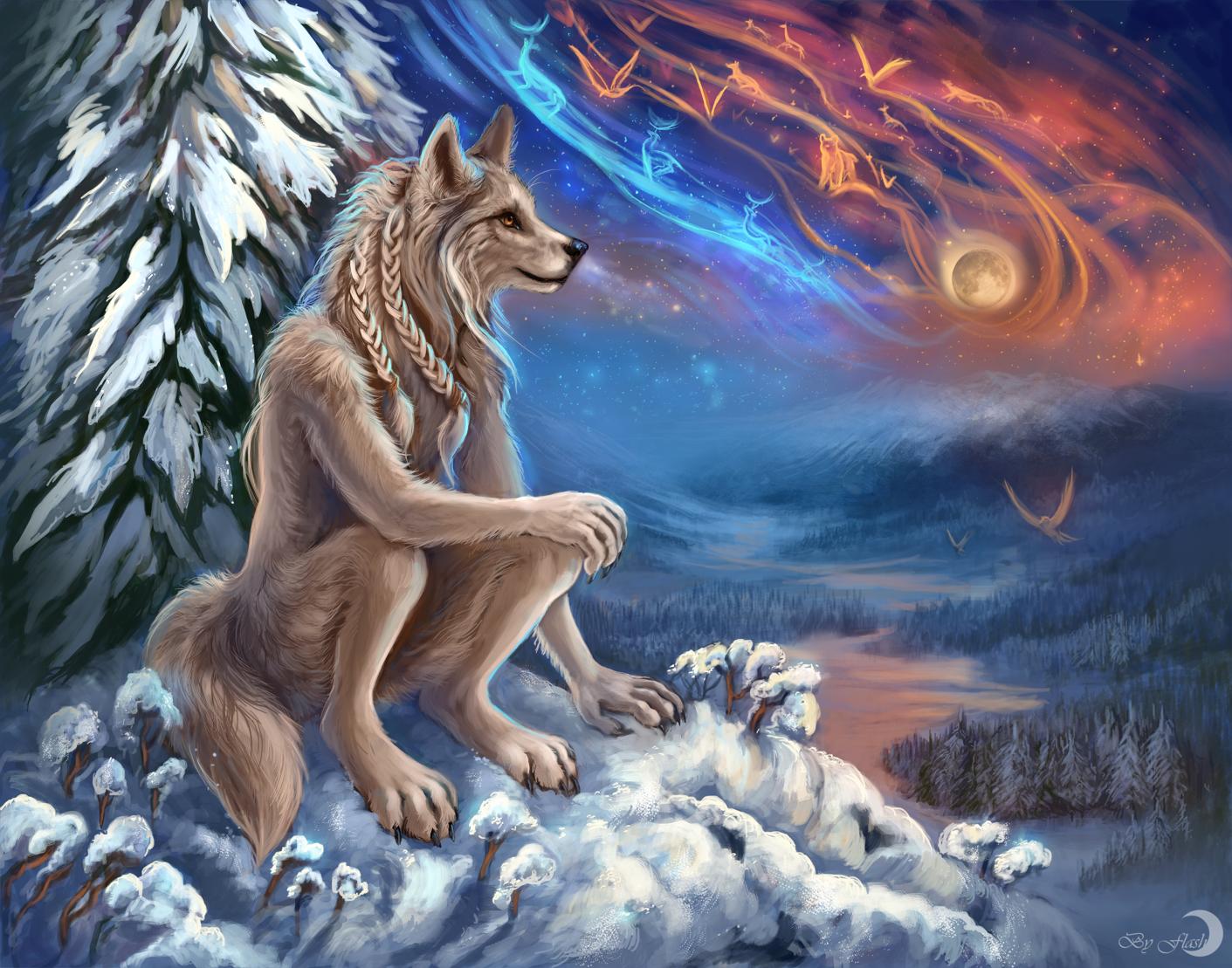 Polar Night by FlashW