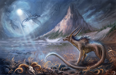 The valley of ice dragons