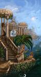 Atlantida on water by FlashW