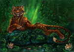 Jungle queen by FlashW