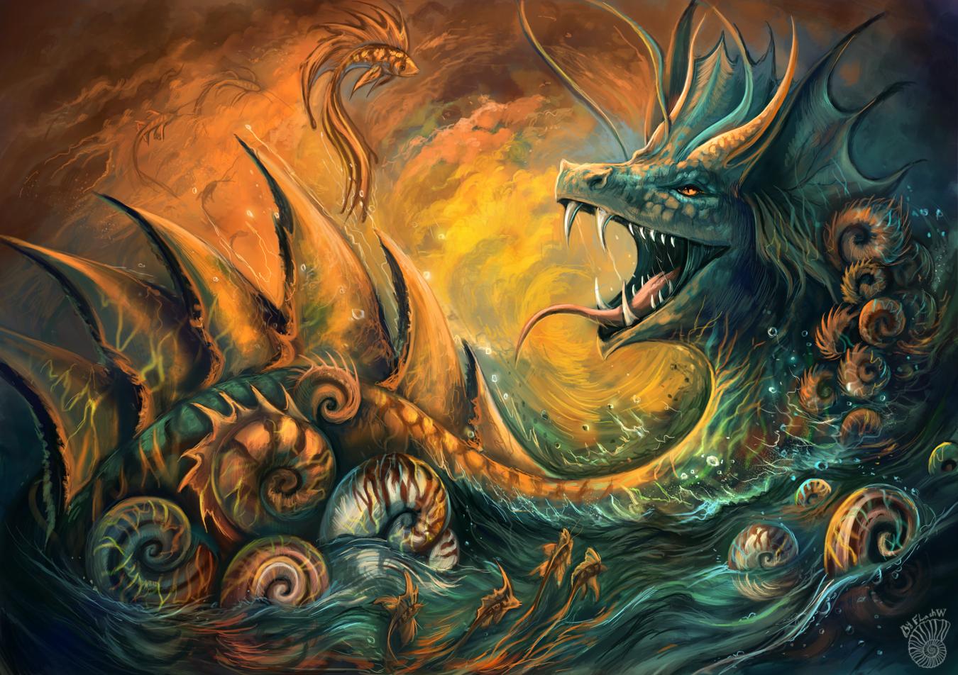 Sea dragon by FlashW