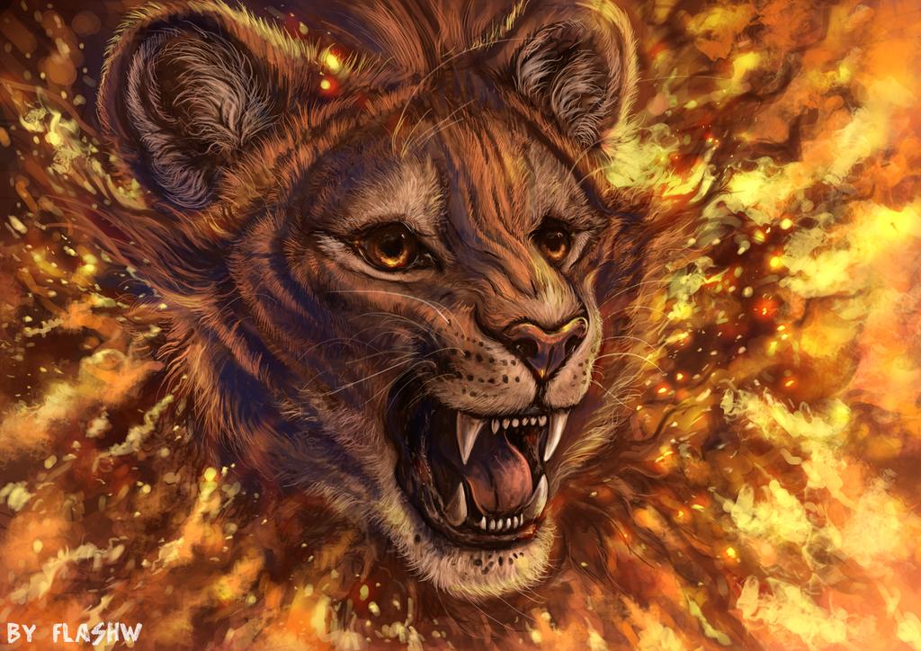 Fire roar by FlashW