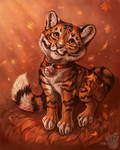 Little tiger by FlashW