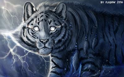 Tiger God by FlashW