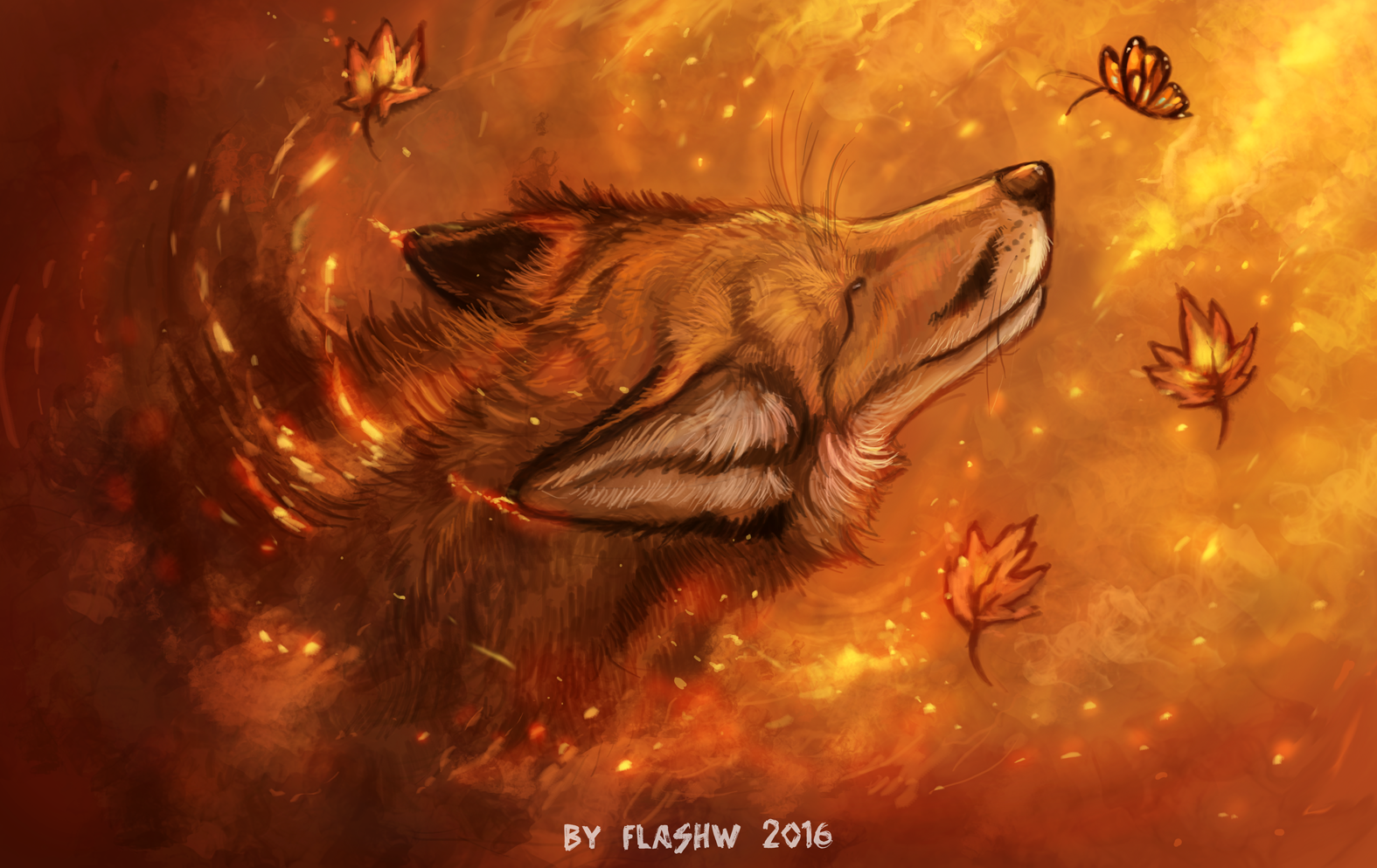 Drawing dreams by FlashW