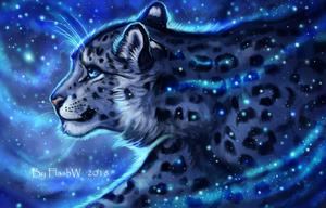 Blue lights by FlashW