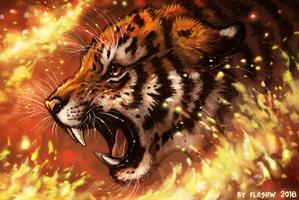 Fire of revenge by FlashW