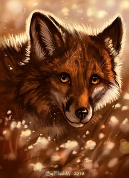 Fox's smile